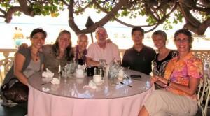Airi, Laurie, Patricia, Jim, Steve, Melissa, Lisa